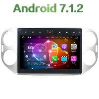 Android 7.1.2 Quad Core 2 GB RAM 16 GB ROM 10.1 ''HD Auto Radio Auto Audio Stereo 12 V Ondersteuning FM voor Volkswagen Tiguan 2013-2015