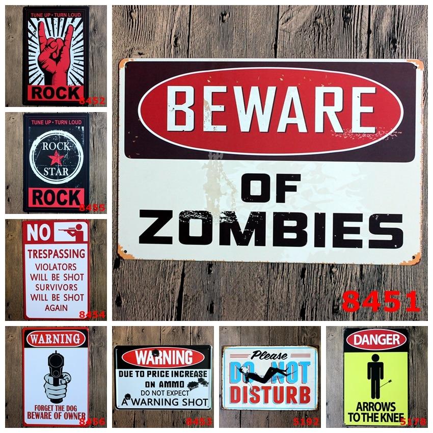 Metal Wall Signs online get cheap metal warning signs -aliexpress | alibaba group
