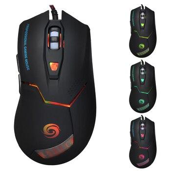 3200 dpi USB Проводная игровая мышь геймер 6 кнопок оптическая Геймер Использование мыши Компьютерные Мыши для ПК Mac ноутбук игра LOL Dota