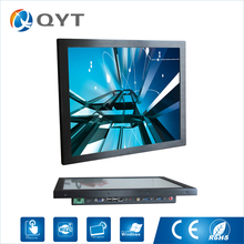 Inter j1900 2.0GHz 19″ industrial all in one pc 4USB/RS232 Resistive touch screen Resolution 1280×1024 2GB RAM 32G SSD