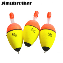 11cm Fishing Float Boia Foam Type Led Light Stick Bobber Buoy Glowing Night Fishing Floats Set fishing gear suppliers 1/3/5pcs