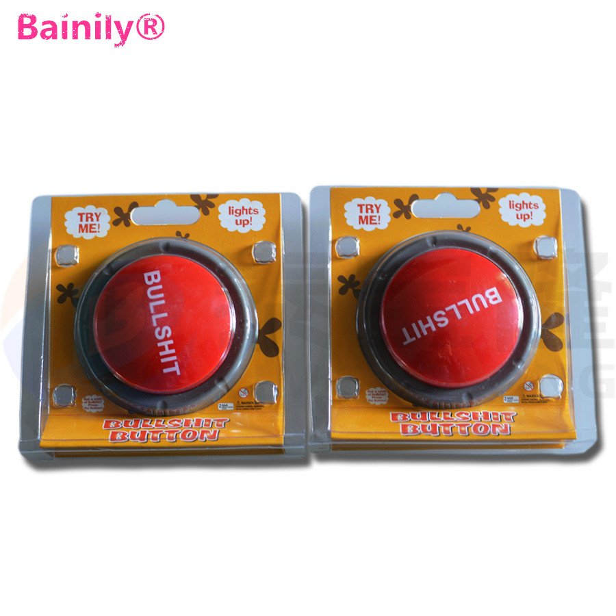 [Bainily] New Bullshit Loudspeaker Button Music Box Action Figure Toys Funny Gift Toy new hot 18cm one piece donquixote doflamingo action figure toys doll collection christmas gift with box minge3