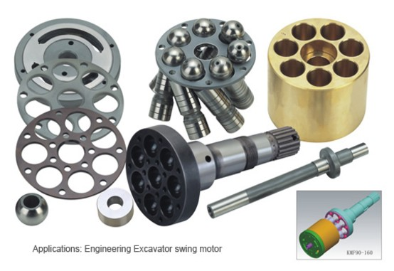KOMATSU repair kit engineering excavator swing motor KMF90 KPV90 accessories spare parts PC200-1/2/3 куплю запчастей б у к komatsu