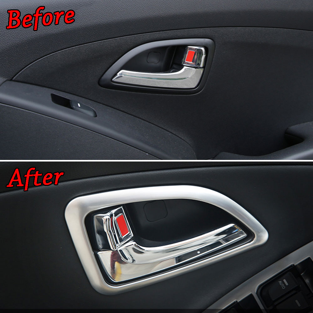 For 2010 2011 2012 2013 2014 2015 Chevrolet Camaro Chrome Door Handle Bowls