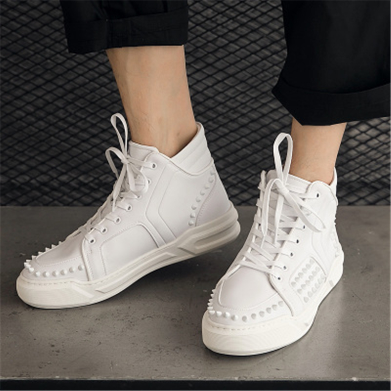Men Leather Shoes Trainers Summer Male Adult Shoes Casual Lace-up Flats High Spring Solid Shoes new men genuine leather shoes luxury trainers summer male adult shoes casual flats solid spring black lace up shoes