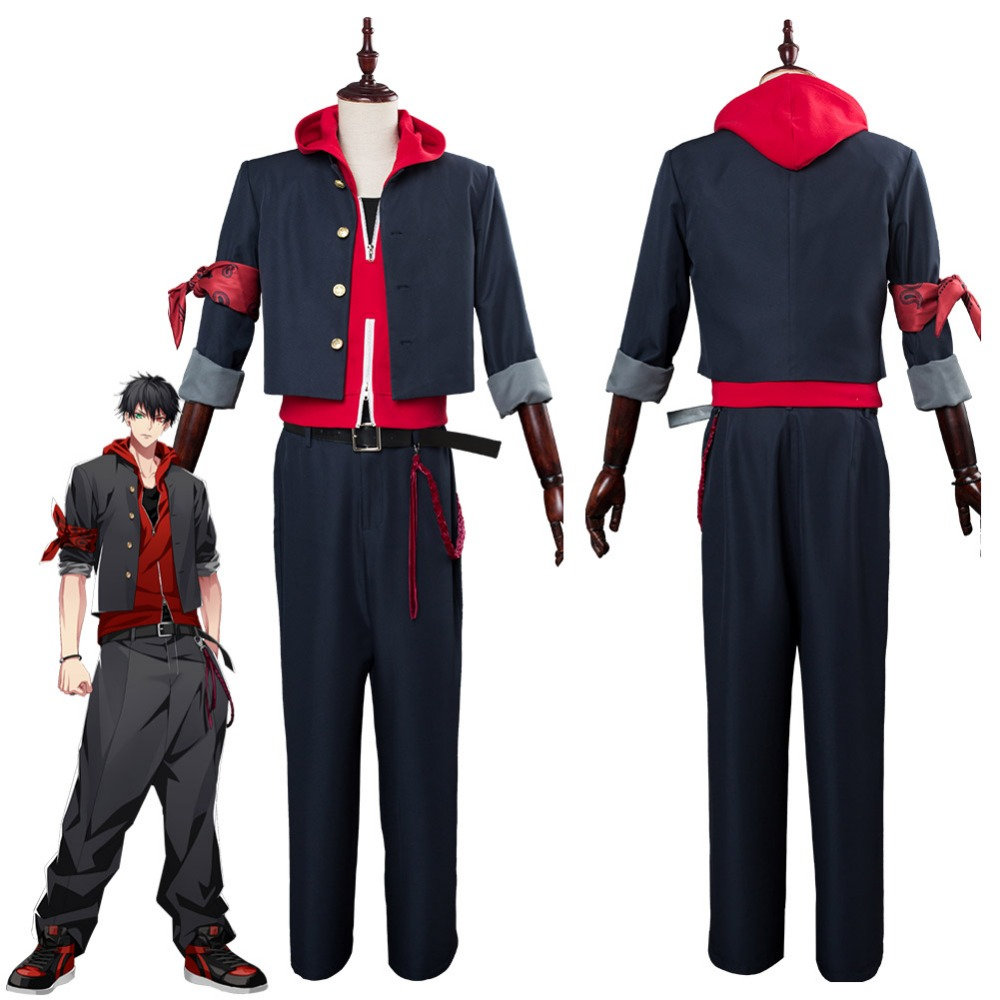 DRB Division Rap Battle Yamada Ichiro The Dirty Dawg Cosplay Costume Halloween Carnival Costume