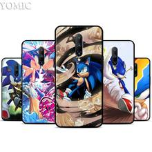 Sonic the Hedgehog Series Silicone Case for Oneplus 7 7Pro 5T 6 6T Black Soft Case for Oneplus 7 7 Pro TPU Phone Cover