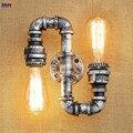 IWHD Retro Loft Stil Eisen Wasser Rohr Lampen Industrie Vintage Wand Leuchten Edison Wand Leuchte Innen Beleuchtung Lampara-in Wandleuchten aus Licht & Beleuchtung bei