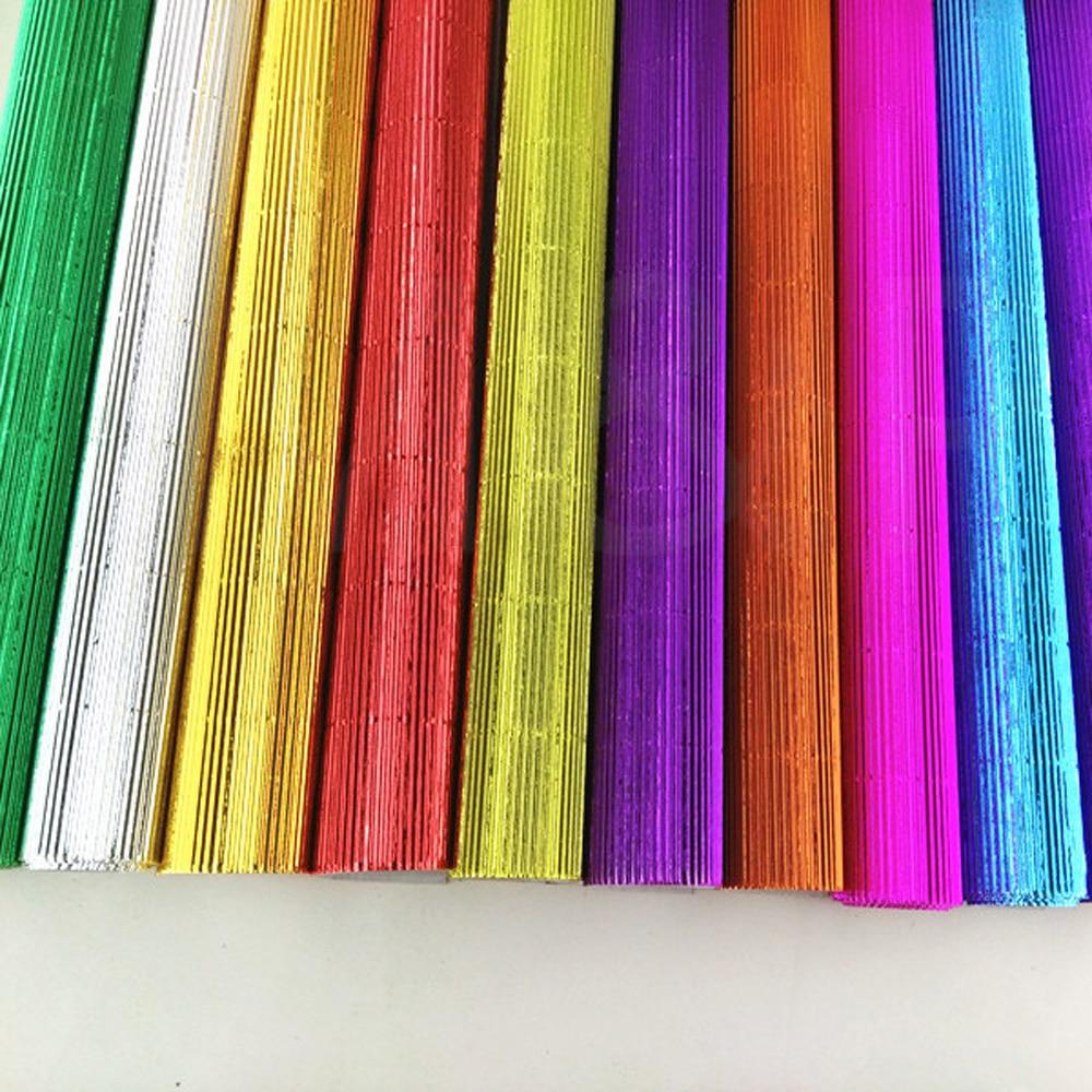 50   35cm 1 pcs Corrugated paper Color art paper Children handmade ... 6ef137f858fb0