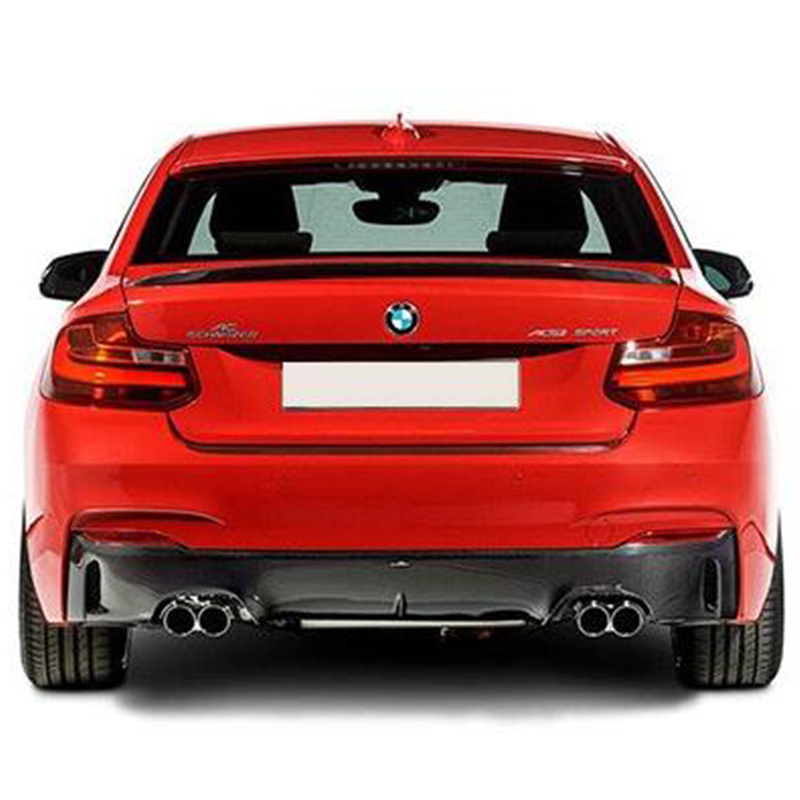 F22 F23 Modified Performance Style Carbon Fiber Rear Trunk Luggage Compartment Spoiler Car Wing for BMW F22 F23 2014 2015 2016