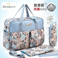 2016 Shipping Free Antimicrobial Baby Diaper Changing Bag Waterproof Mommy Bag Fashion Nappy Bag With Waterproof Nylon Material