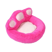 Pet Dog Bed House Dogs Beds Nest Doghouse Pillow Cat Blanket Cover Chihuahua Beds Paw Print Pad Sleep Pads Crate Pet Beds Stairs