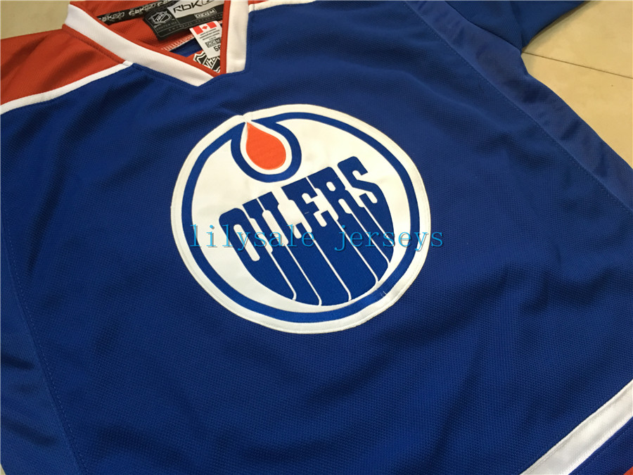 29 LEON DRAISAITL Jersey EDM Home BlUE Authentic Stitched Hockey Jerseys  size small s 46 4xl 58-in Hockey Jerseys from Sports   Entertainment on ... d0e433070