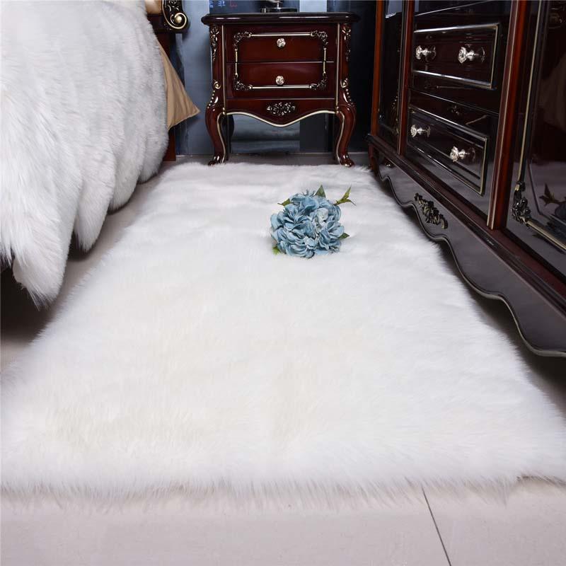 Soft Non-Slip Washable Modern Kitchen Mat Living Room Carpet Entrance Door Mat Bedroom Office Desktop Carpet
