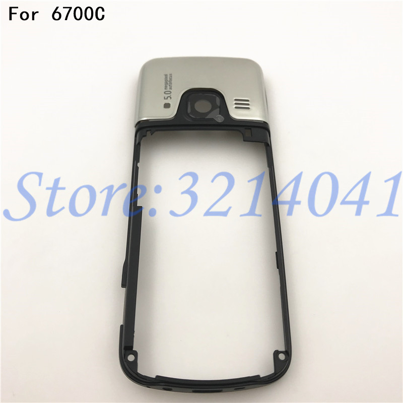 Original 6700C High Quality Replacement Part Middle Frame <font><b>Housing</b></font> Case Cover For <font><b>Nokia</b></font> 6700C <font><b>6700</b></font> Classic image