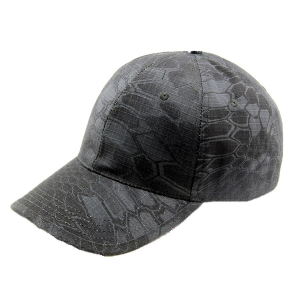 5e4651408ea23 Unissex Boné de Beisebol Cap Tático Militar padrão Python chapéu de basebol  camuflagem tático ao ar livre cap-secagem rápida respirável