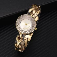 2019 Fashion Rhinestone Balls Round Dial Alloy Leaf Strap Analog Quartz Wrist Watch цены