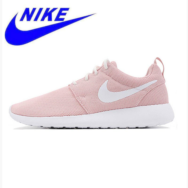 d30490031240 Original New Arrival Offical Nike Roshe Run One Breathable Women s Running  Shoes Sports Sneakers Trainers Non-slip