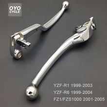 For Yamaha YZF R1 R6 FZ1 Brake Clutch Levers YZF-R1 YZF-R6 FZS1000 Fazer Motorcycle Brake Levers Accessories стоимость