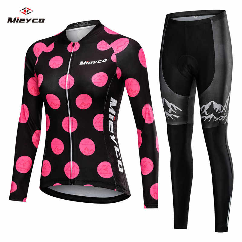 2019 Women Spring Long Cycling Clothing MTB Bicycle Wear Ropa Ciclismo Lover Style Race Quick-Dry Cycle Clothes Bib Short Pants