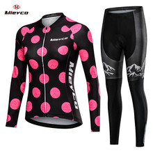 2020 Women Spring Long Cycling Clothing MTB Bicycle Wear Ropa Ciclismo Lover Style Race Quick Dry Cycle Clothes Bib Short Pants