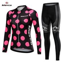 2020 donne Della Molla Lungo Ciclismo Abbigliamento MTB Usura Della Bicicletta Ropa Ciclismo Amante Stile Gara Quick Dry Vestiti del Ciclo Bib pantaloni di scarsità