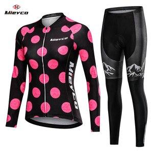 Image 1 - 2020 kobiet wiosna długa odzież rowerowa rower MTB nosić Ropa Ciclismo Lover Style Race szybkoschnący cykl ubrania krótkie spodnie na szelkach