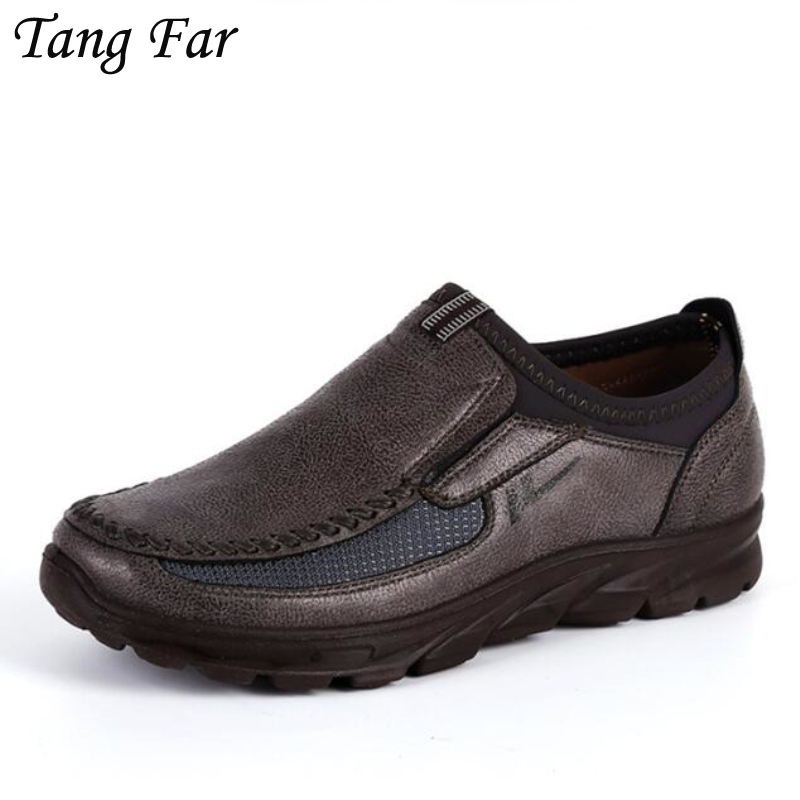 все цены на Big Size 48-39 Brand Men Breathable Outdoor Casual Shoes Men Flats Moccasins Shoes Trainers Zapatillas Zapatos Hombre Hot Sale онлайн