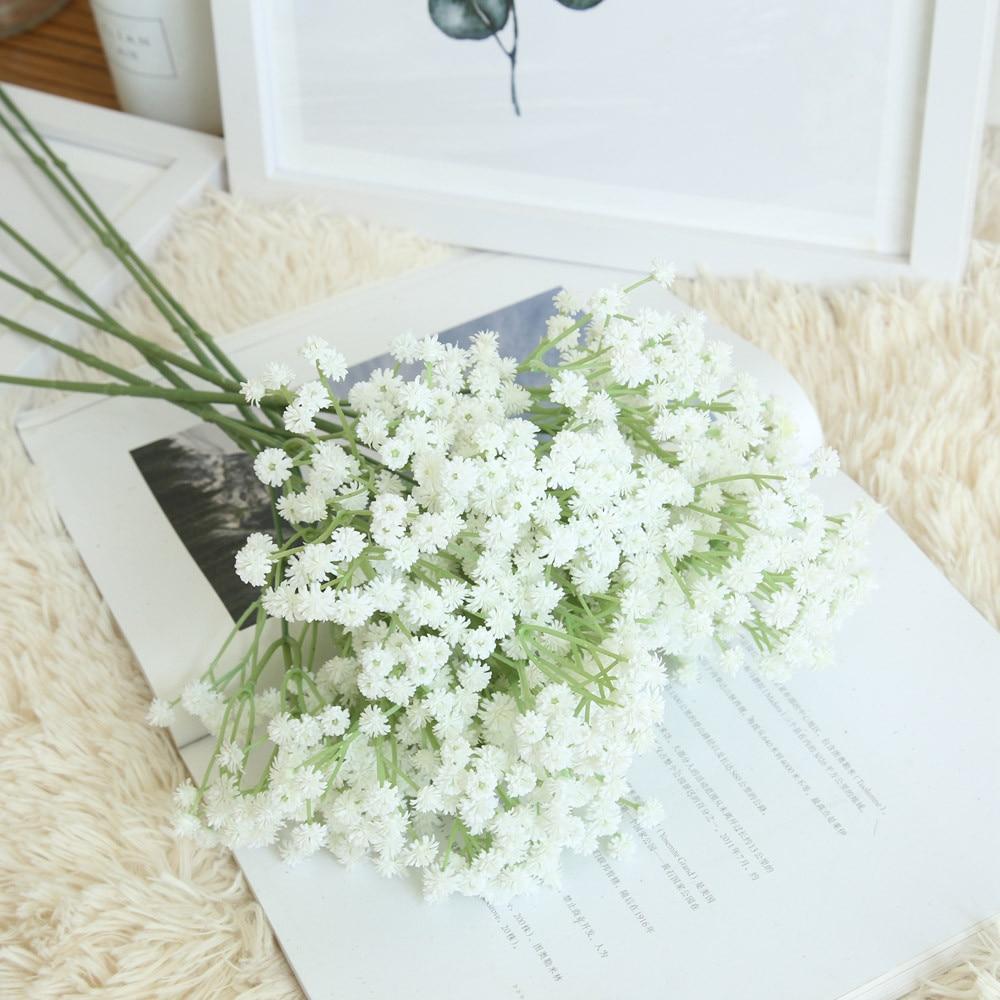 Artificial Gypsophila Floral Fake Silk Flower For Living ...