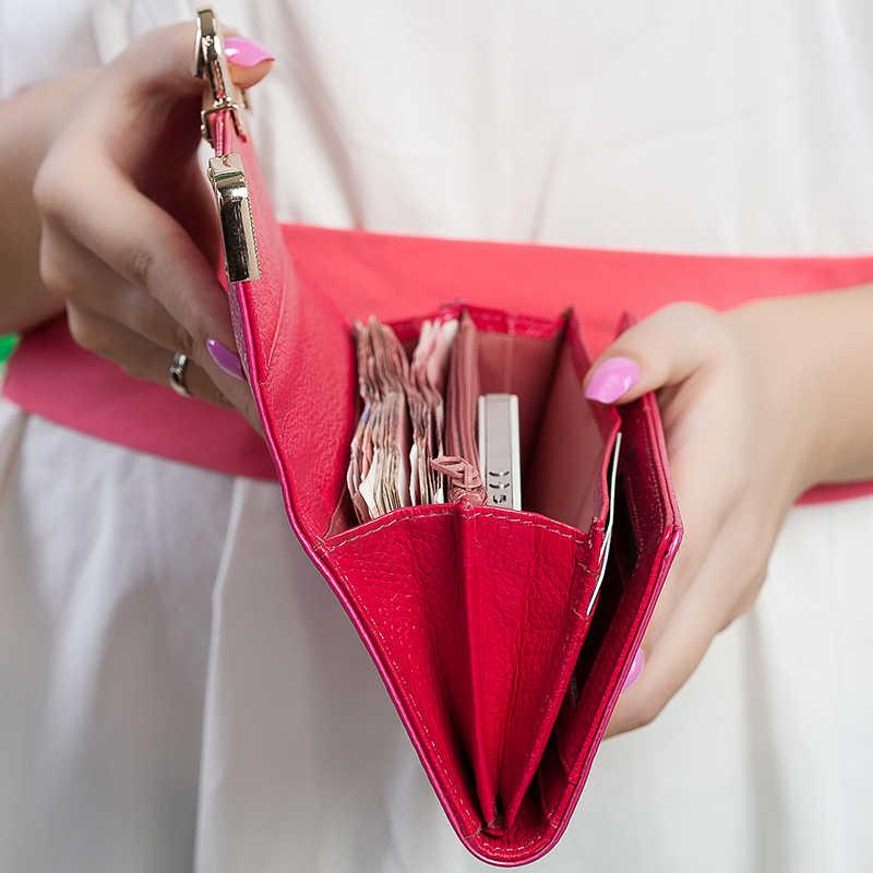 Kevin Yun Fashion Desainer Merek Dompet Wanita Kulit Dompet Panjang Dompet