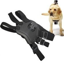 Adjustable Elastic Hound Dog Pet Harness Chest Strap Back Mount Fetch For Gopro Hero Action Camera