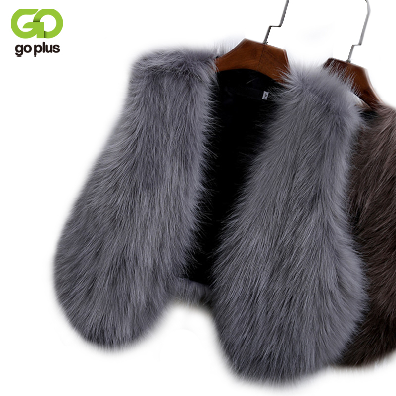 Goplus 2019 New Winter Women's Faux Fox Fur Vest Long Furry Shaggy Woman Fake Fur Vest Fashion Plus Size Fur Vests High Quality To Make One Feel At Ease And Energetic