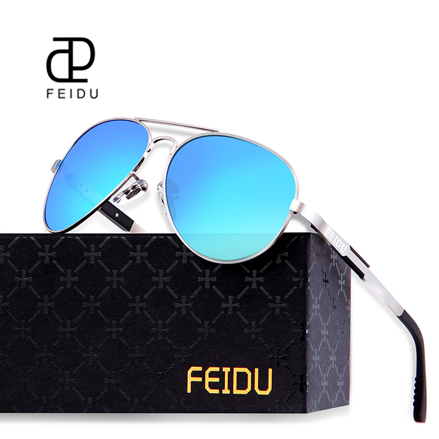 70024ef6f02 FEIDU 2017 High Quality Pilot Alloy Polarized Sunglasses Men Retro Classic  Alloy Frame Sun Glasses Male Oculos De Sol Masculino