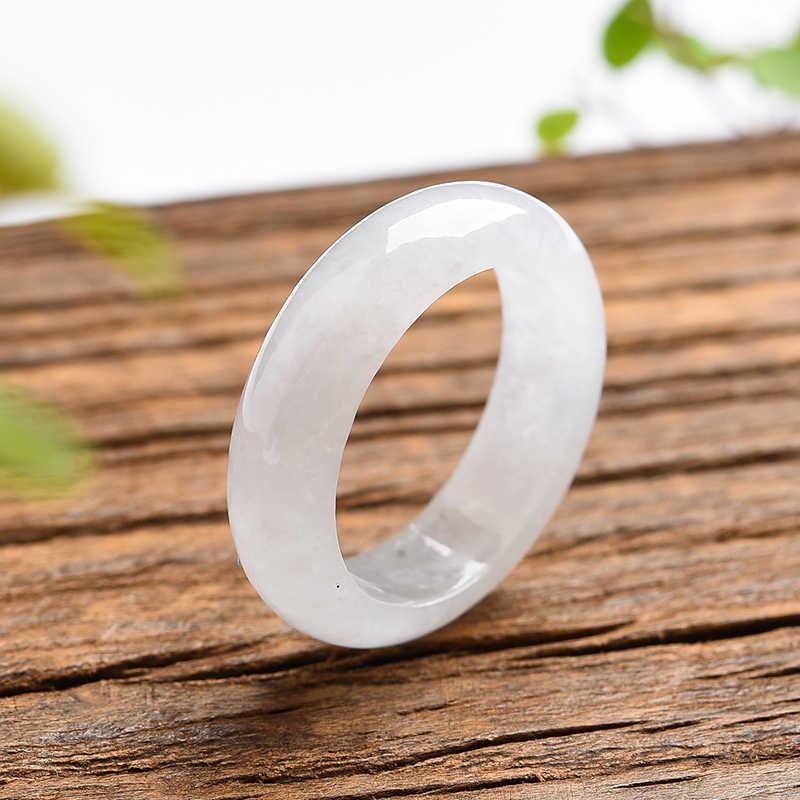 Нефрит кольцо Прямая продажа апертура мужское нефритовое кольцо увлажняющее изысканное нефритовое кольцо класс палец