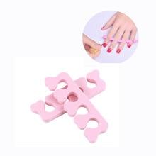 Beauty Nail Art & Feet Care 2pcs/lot EVA Foam Nail Art tools Finger Bracket Nail & Toe seperators Manicure Pedicure Tools