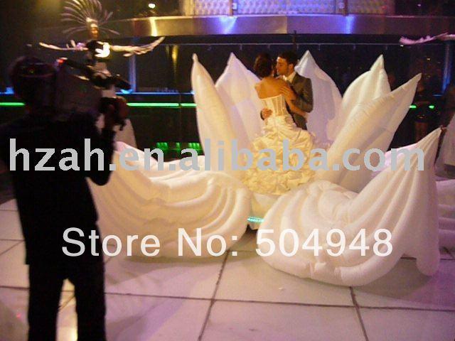 Big Wedding Inflatable Flower Nice Inflatable Artifical Flower 2017 new inflatable flower long wedding decoration flower
