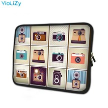 print camera Neoprene laptop Bag 7.9 mini notebook sleeve 7 inch tablet case protective skin for cover ipad mini TB-24762