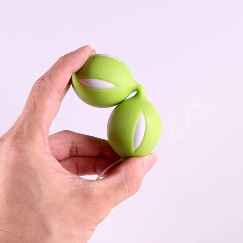 Vajinal Akıllı Topları Sıkma Vajina Kas Sıkı Ağırlık Egzersiz Boncuk Vajinal Topları Genişleme Cihazı Samimi Ürünler Kadınlar Için