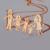 Familia Regalos Personalizados 925 Loving Familia Dibujo Christmax Regalo Personalizado Regalo de Cumpleaños de la Joyería Collar de Mamá