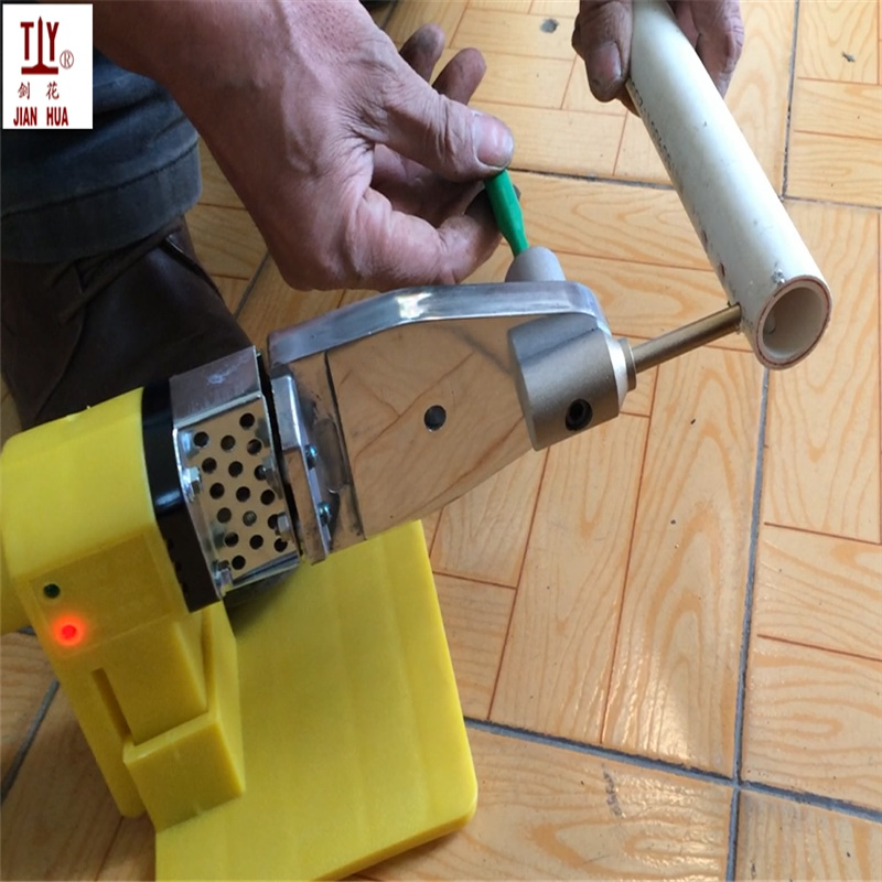 Free Shipping With 25mm Cutter PPR Water Pipe Repair Tool Repair Loopholes Plastic 7mm Pipe Welding Parts Die Head, Welding Mold
