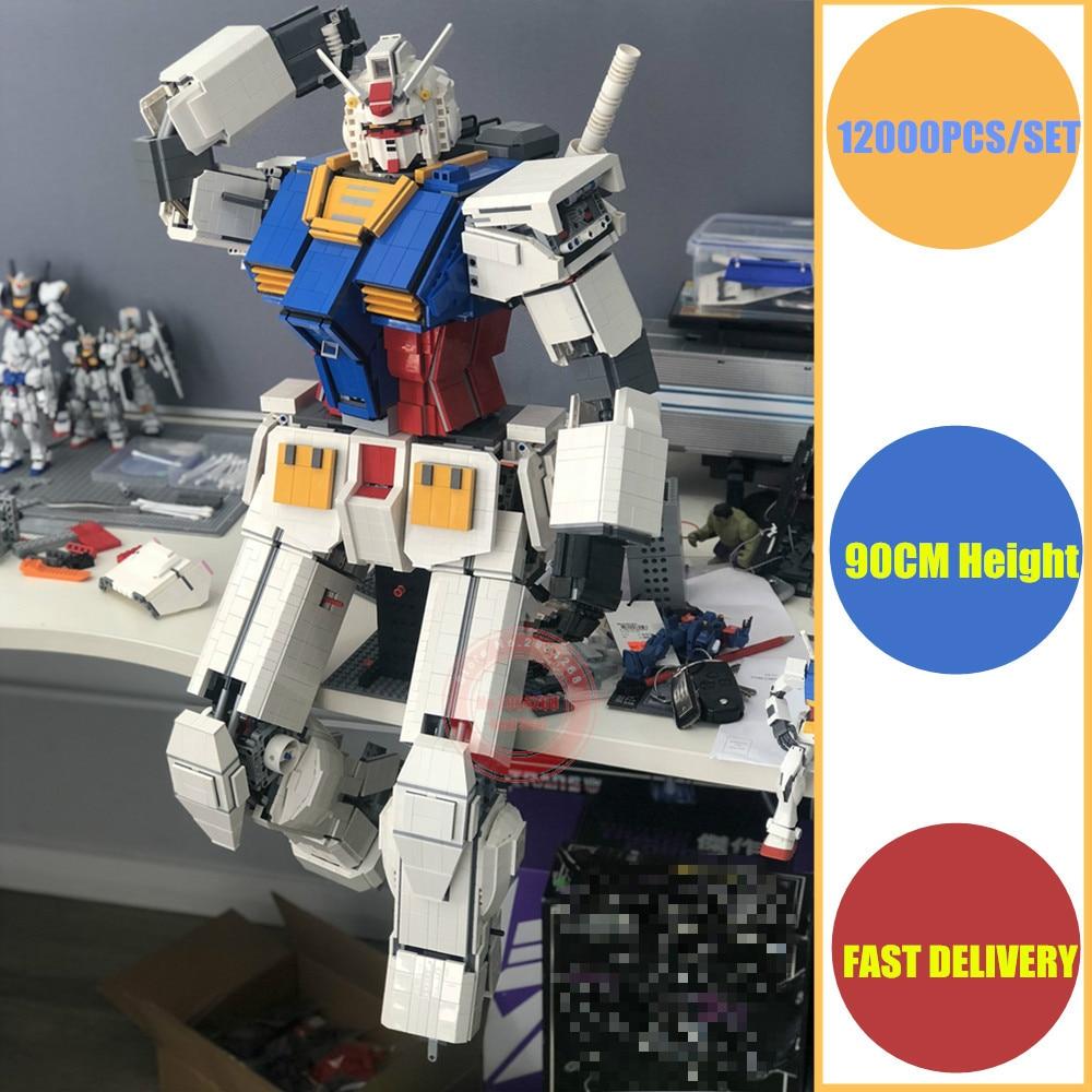 цена на New Superhero MOC JAPAN Anime Robot fit legoings gundam technic military model Building Block Bricks christmas Toy Kid DIY Gift