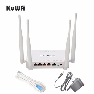 Image 5 - Rete domestica senza fili del Router del segnale di wifi precaricato openWRT del Router senza fili di alto potere 300Mbps con lantenna 4*5 dbi