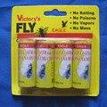 Alta Qualidade 4X Mosca Pegajoso Tira de Papel de Controle de Vôo de Insetos Mosquitos Catcher Apanhador de Insetos Que Voam