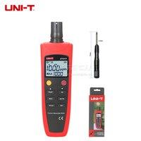 UNI T UT337A CO детектор угарного газа метр Тесты er звуко световая сигнализация газоанализатор значение/Температура Дисплей Сенсор Self Тесты
