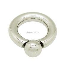4mm x 10mm 316L acero inoxidable quirúrgico tornillo en el anillo de bola pezón anillos de mama