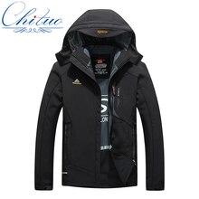 2016 new winter jacket men's waterproof windproof warm coat jacket men's fashion casual soft shell jacket size M-4XL