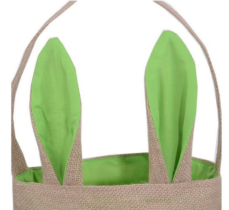 Wholesale easter bunny ears bag jute cloth material gift bags easter wholesale easter bunny ears bag jute cloth material gift bags easter celebration decoration bags free fast shipping in gift bags wrapping supplies from negle Gallery