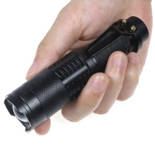 Functional 5-mode Pocket Penlight With Clip XML-T6 High Power Zoomable Self Defense Spotlights 3800 Lumens Outdoor Bike Light