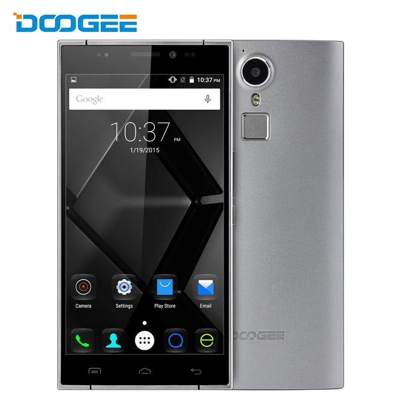 bilder für Ursprüngliche doogee f5 smartphone mtk6753 octa-core 5,5 zoll 1920*1080 3 gb RAM 16 GB ROM 13MP Fingerprint ID 4G LTE Android 5.1 Telefon