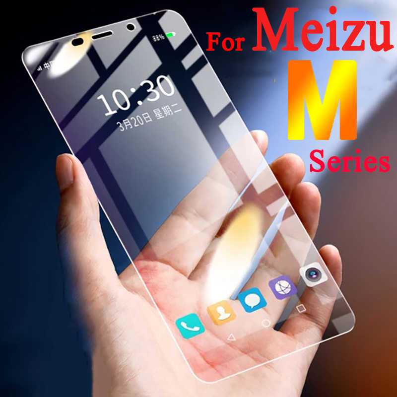 On the for Meizu m6 note protective glass maisie m5 m 2 3 5 6 s 6 meizy mx5 mx6 m2 m3 note u10 u20 screen protect tempered glas